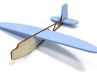 Laser Cut Plane Toy