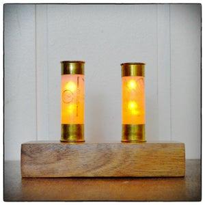 Shotgun Shell LED Candles
