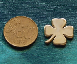 Shamrock From Coin