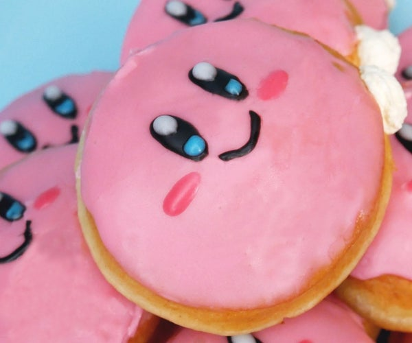 Whipped Cream-Filled Kirby Doughnuts (Donuts)