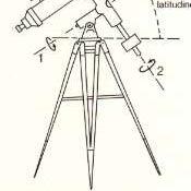I telescopi - la messa in stazione (equatoriale).JPG