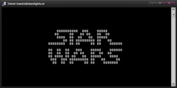Watch Star Wars Through CMD Prompt on Win 7