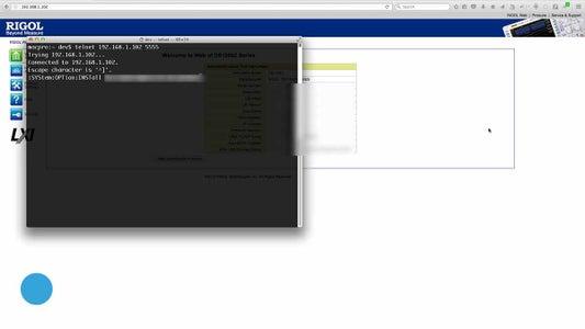 Optional Install / Uninstall Via Telnet