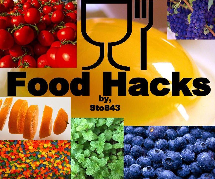 Food Hacks: Prep, Eat, Cleanup
