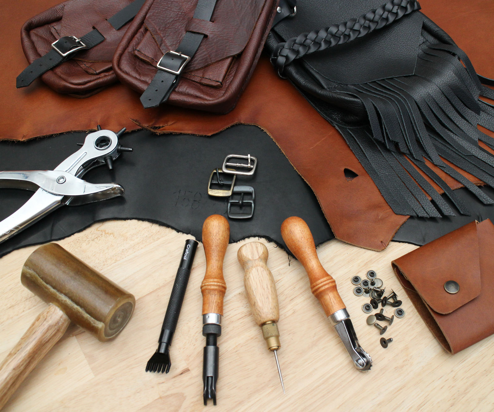 Intro to Leatherwork
