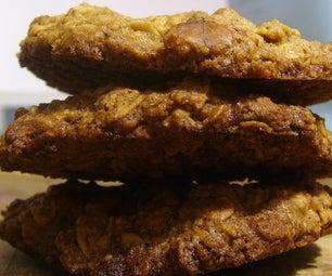 Walnut & Brown Sugar Oatmeal Cookies