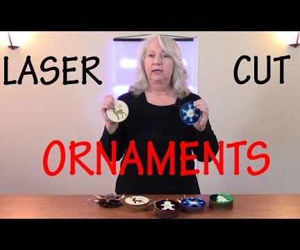 How to Laser Cut Christmas Ornaments