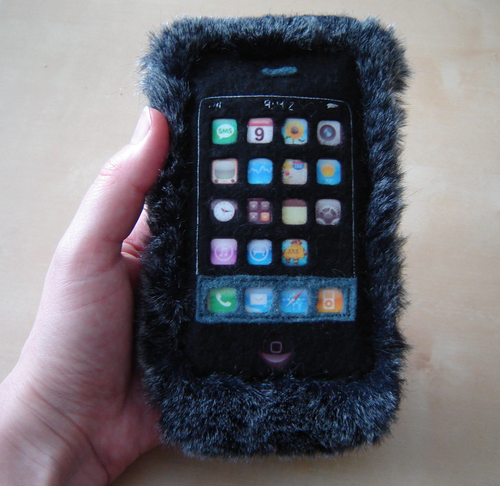 Plush Iphone Sleeve