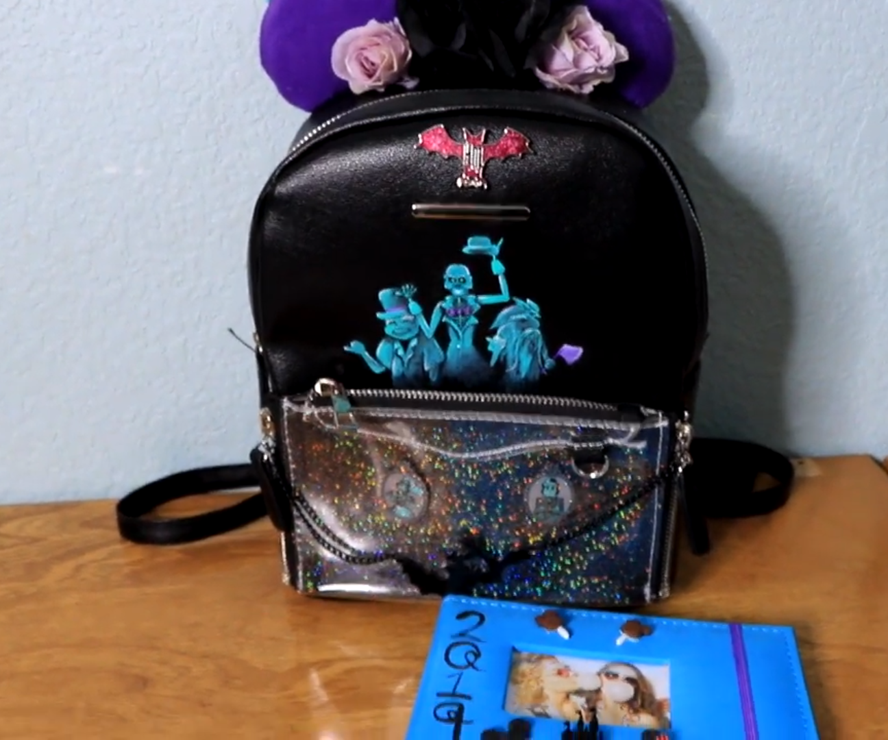 DIY HAUNTED MANSION BACKPACK