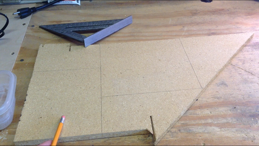 Cutting Out the Wood Boards