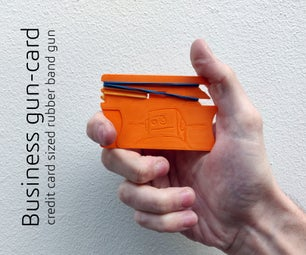 商业枪卡-橡皮筋枪