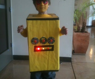 Instructables Robot Costume - Purim Festival