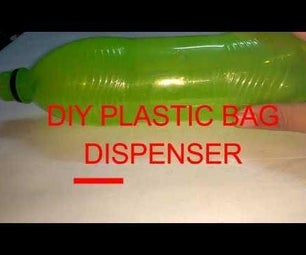 HOW TO MAKE a DIY PLASTIC BAG DISPENSER at Home Very Easily
