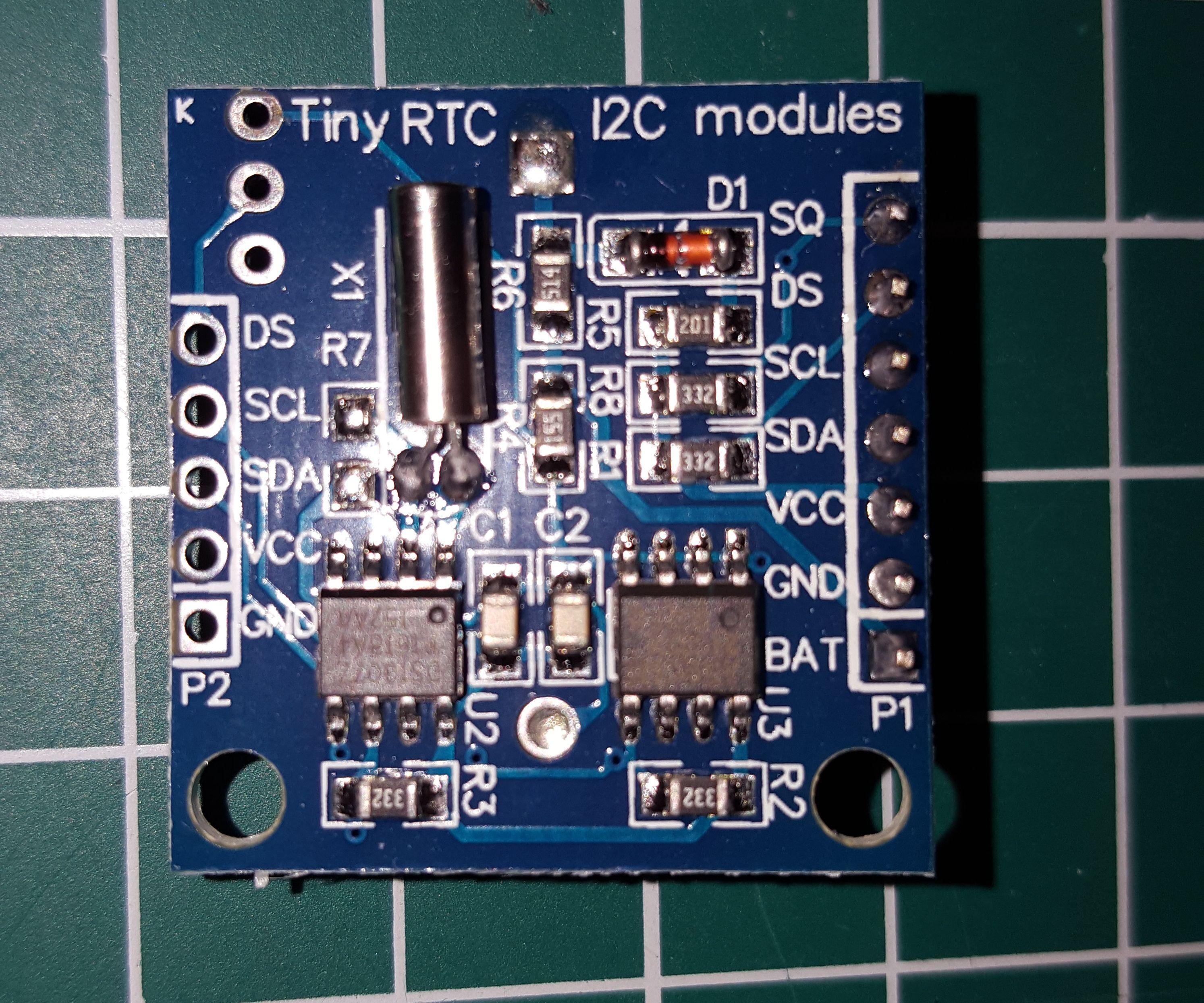 DS1307 RTC I2C Very Simple