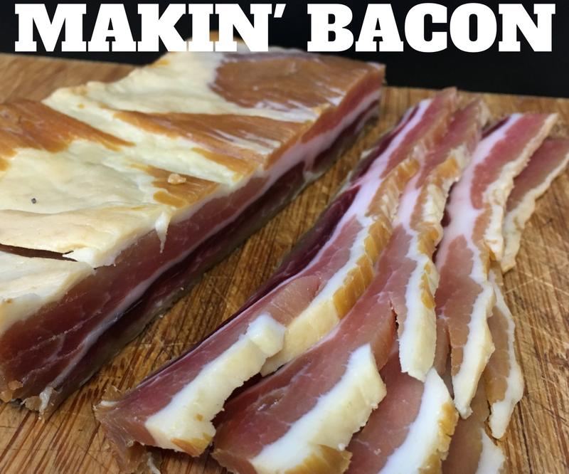 Makin' Bacon - a Guide to Cold Smoking Bacon