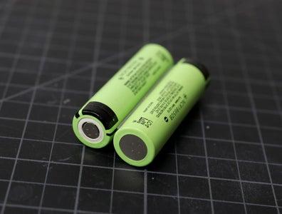 Prepare the 18650 Battery