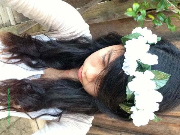 DIY Vintage Boho Floral Headband