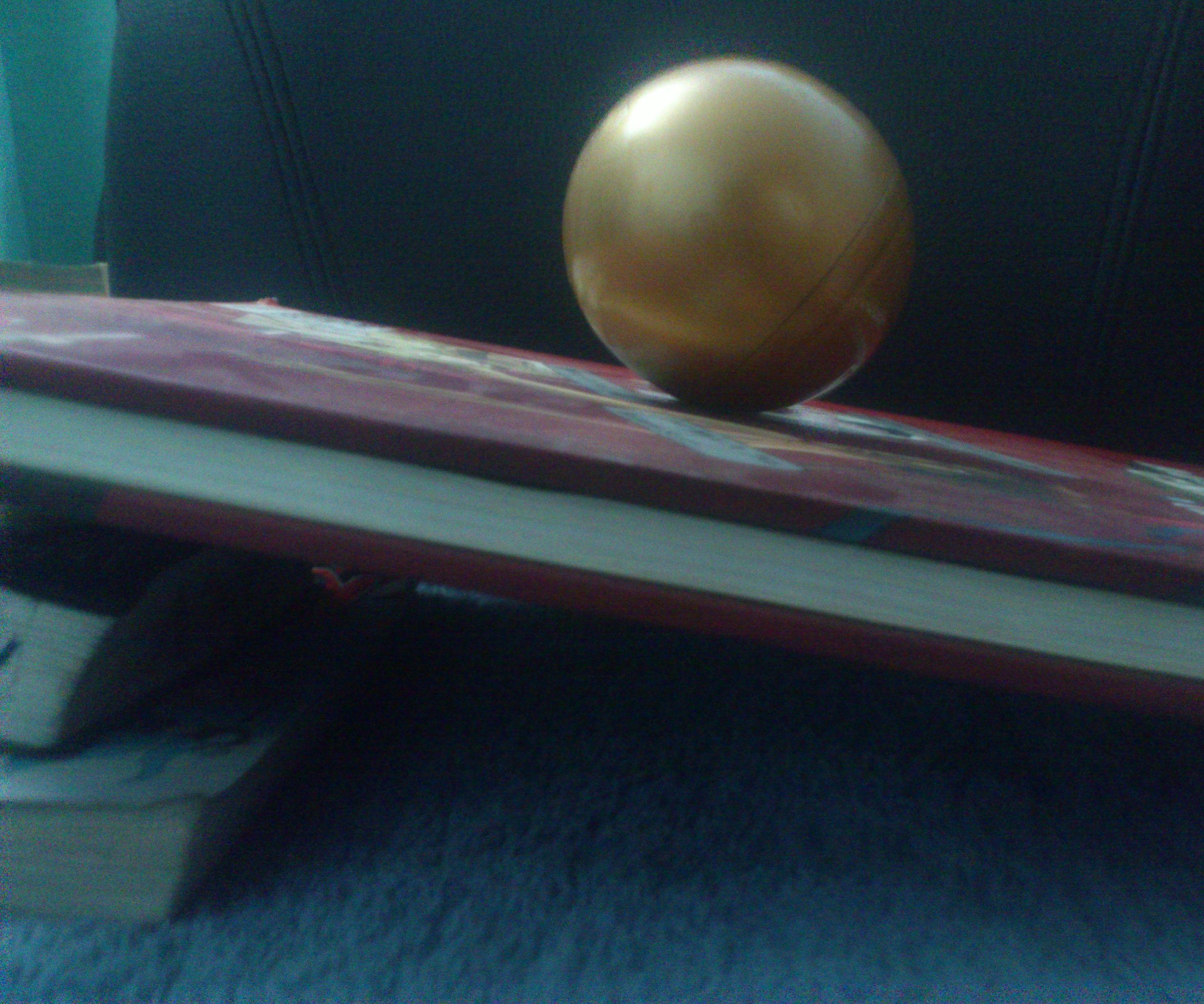 Gravity defying ball