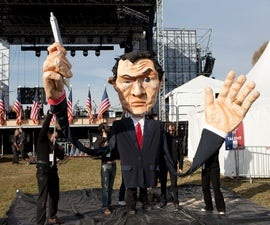 创造一个巨大的选美木偶