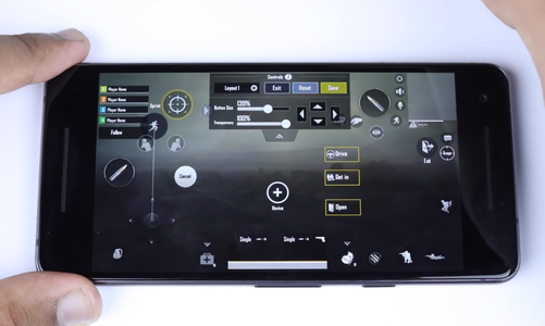 Measure the Size of Your Phone and Change the Controls on the Screen to Suit the Foil