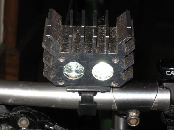 Super Bright Dual Cree Led Bike Light
