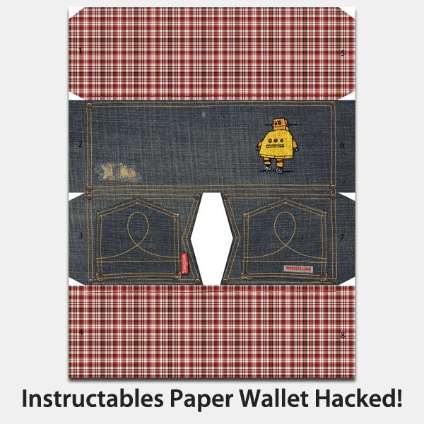 Instructables Paper Wallet Hacked! (2 Ways) and NEW DESIGN