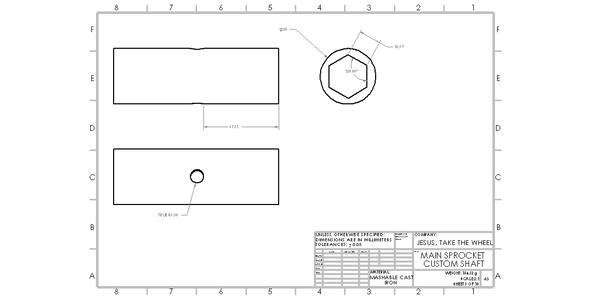 Designing the Custom Shaft