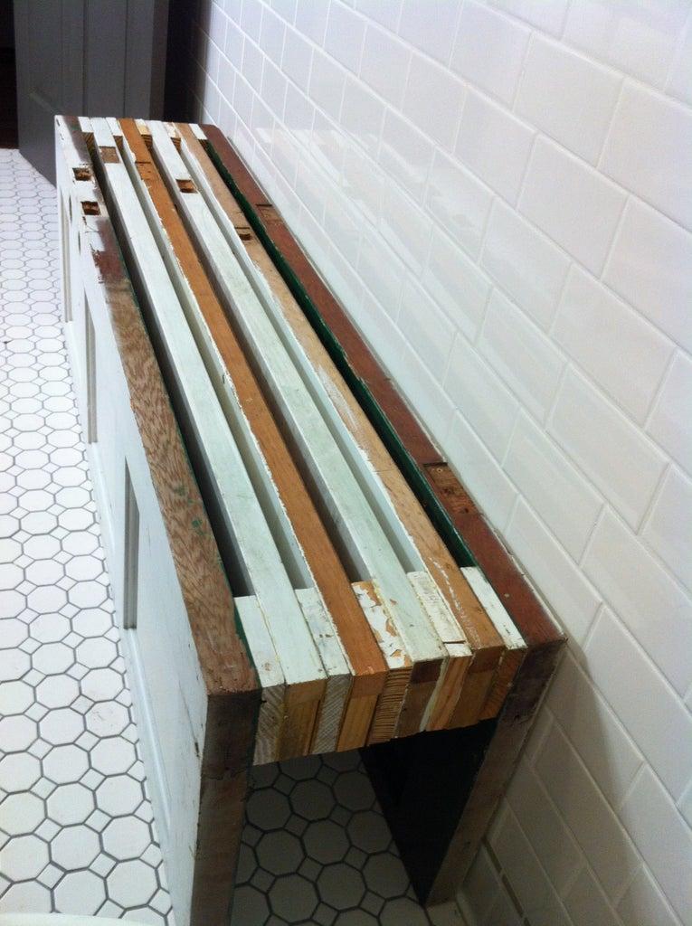 New Bench, Old Doors