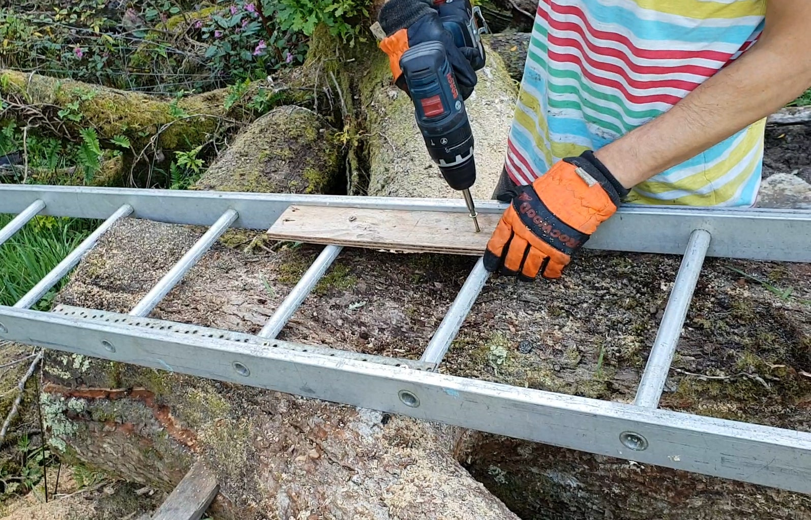 Cut Up the Bench's Sides