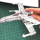 Freehand X-Wing Starship