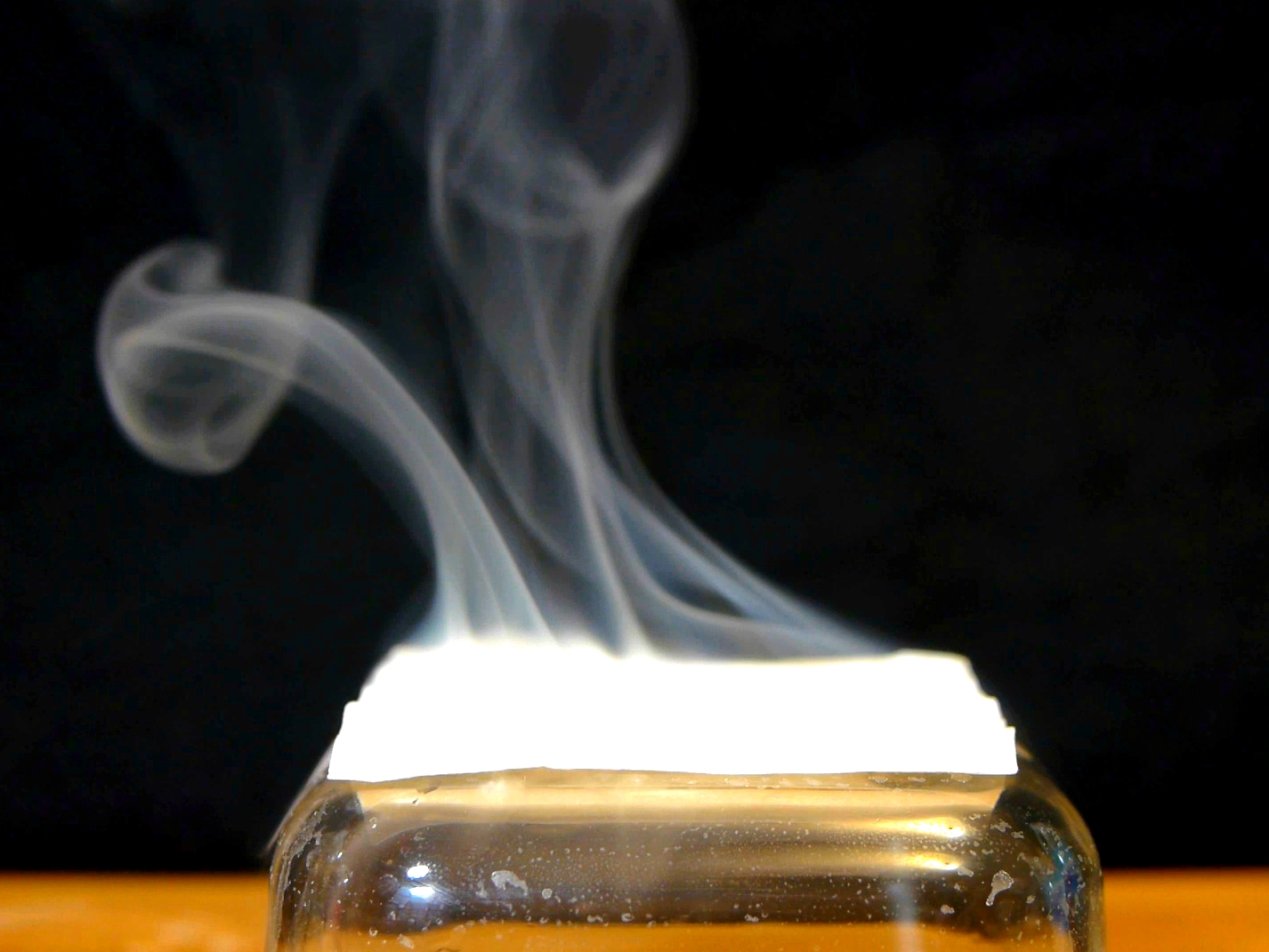Make Smoke Without Heat Using Common Chemicals