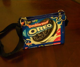 Oreo Purse With Duct Tape (Upcycle)