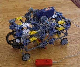 4 Wheel Steering - Knex Car
