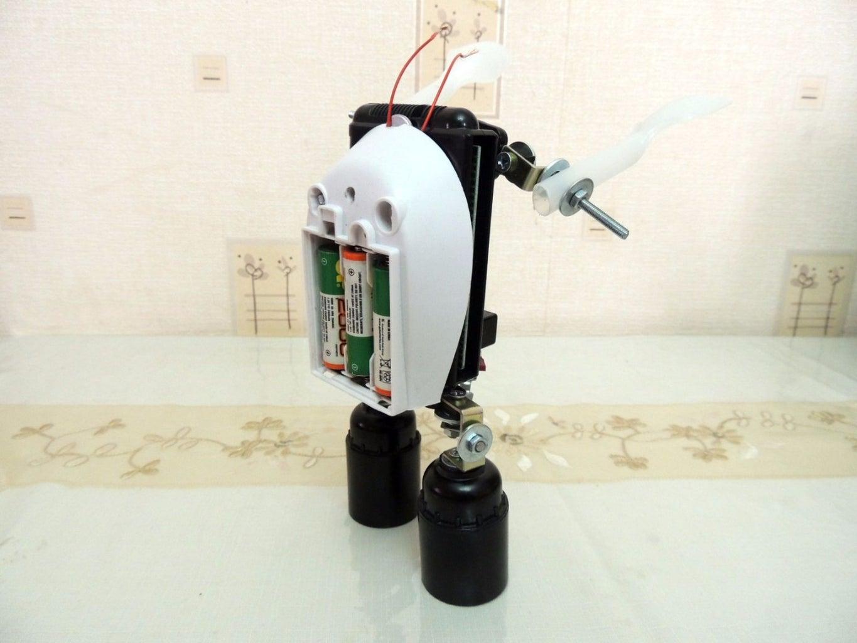 Batteries Backpack