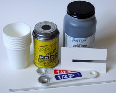Materials for the Conductive Glue and Circuit