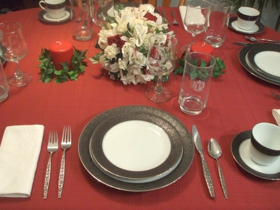 How To Set A Formal Dinner Table 6, Formal Dining Room Table Set Up