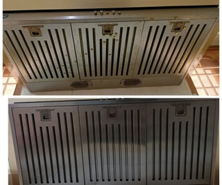 DEGREASING/CLEANING KITCHEN HOOD