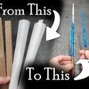 Wands Made With Epoxy Resin - No Lathe