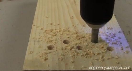Drill Ventilation Holes