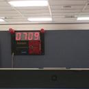Barebone Digital Clock