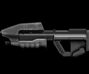 Beef Up the Assault Rifle in Halo 1