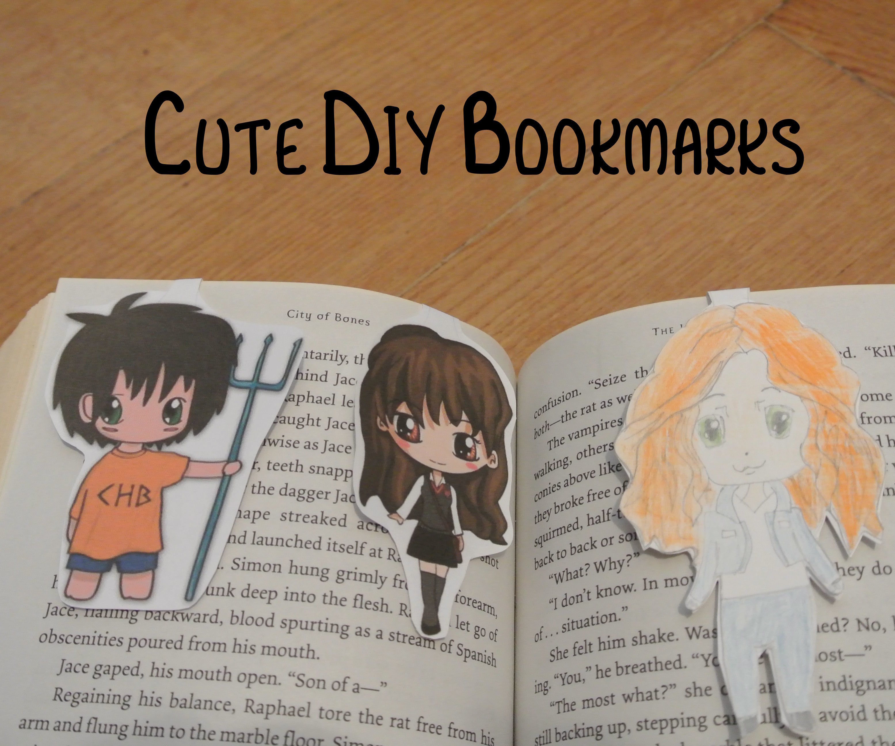Cute D-I-Y Bookmarks