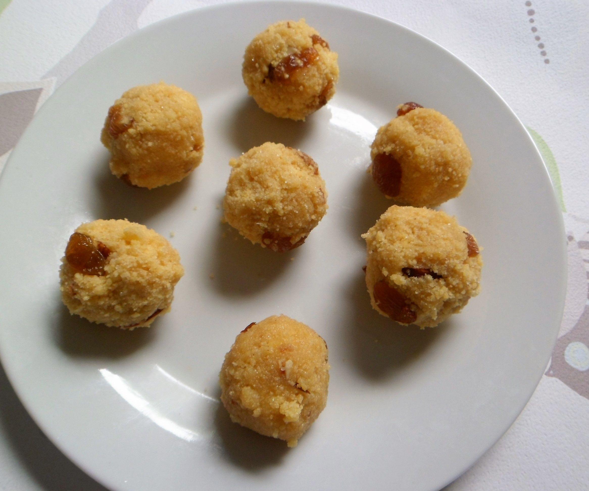 Semolina Chick Peaflour Truffles