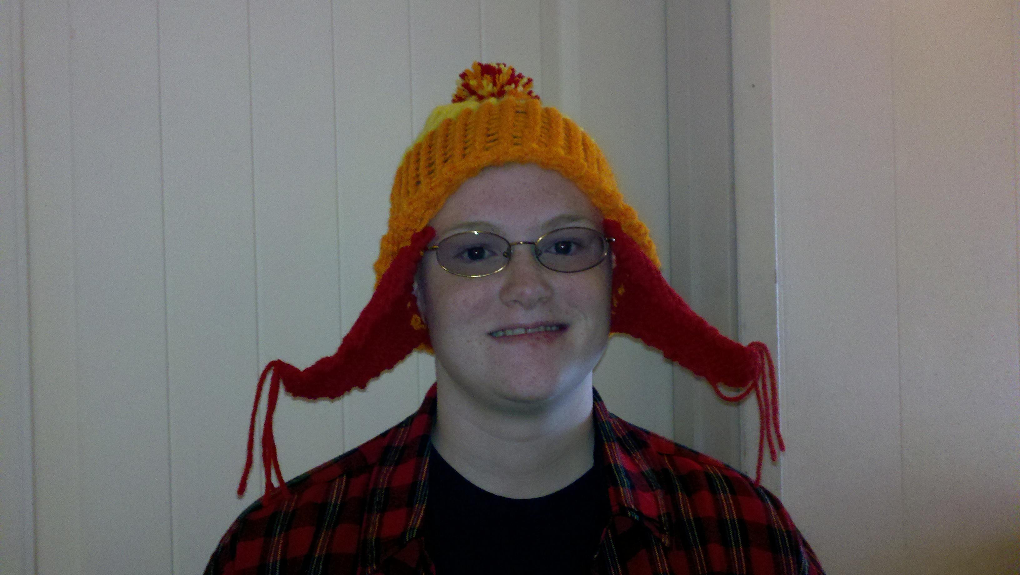 Jayne Hat on a Round Knitting Loom