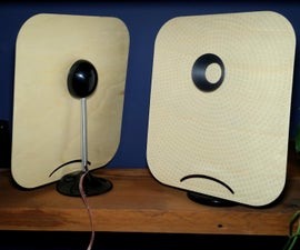 Plywood DML Speakers