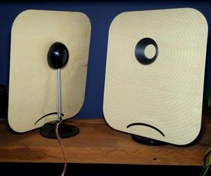 Plywood DML Speakers