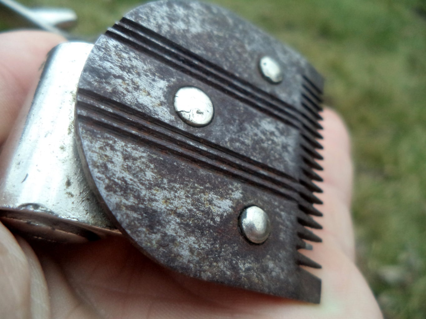 Not So Dramatic USSR Hair Clippers Restoration