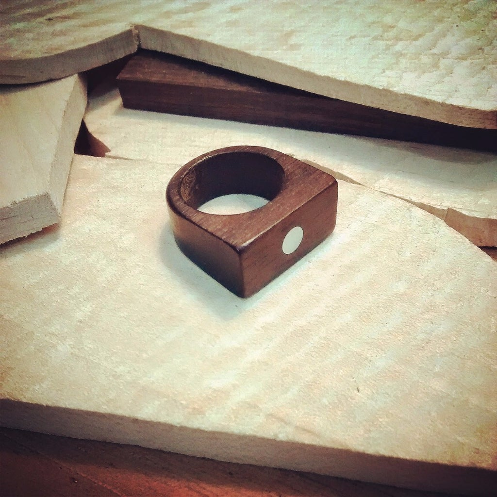 Wood Jewelry in a CNC