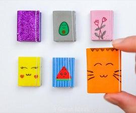 Kawaii Mini Notebook Diy