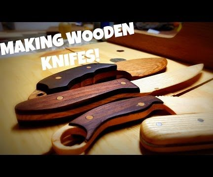 How to Make a Wooden Knife